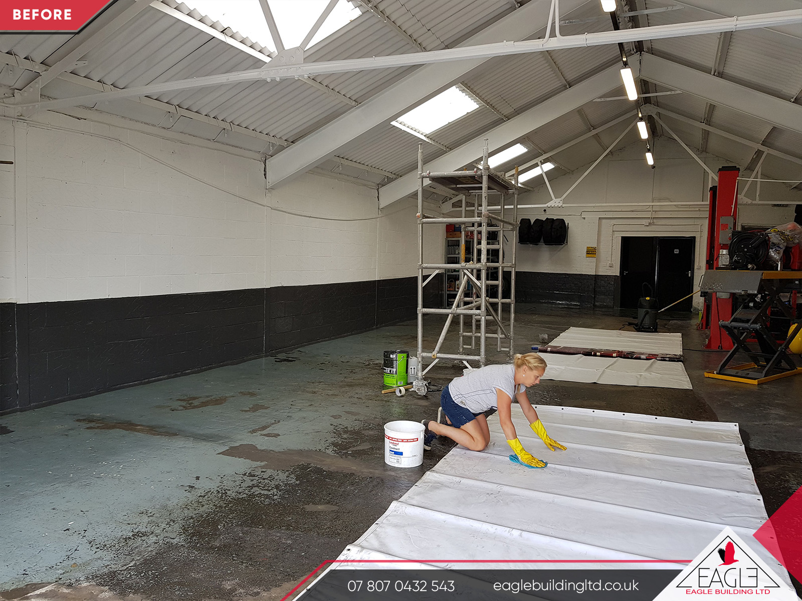 Commercial Workshop Refurbishment Gallery Eagle